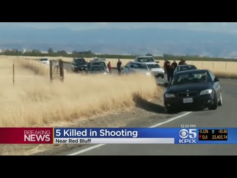 At Least Four People Killed In Northern California Shooting