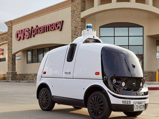 Robotic Medication Deliveries - CVS Pharmacy is Testing Autonomous Prescription Delivery with Nuro (TrendHunter.com)