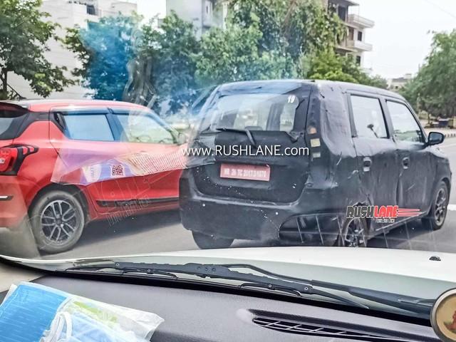 Maruti WagonR electric (XL5 EV) resumes testing – Spied in Gurgaon