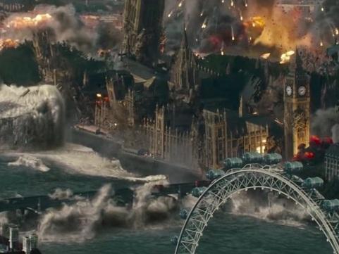 Blockbusters Love Destroying London