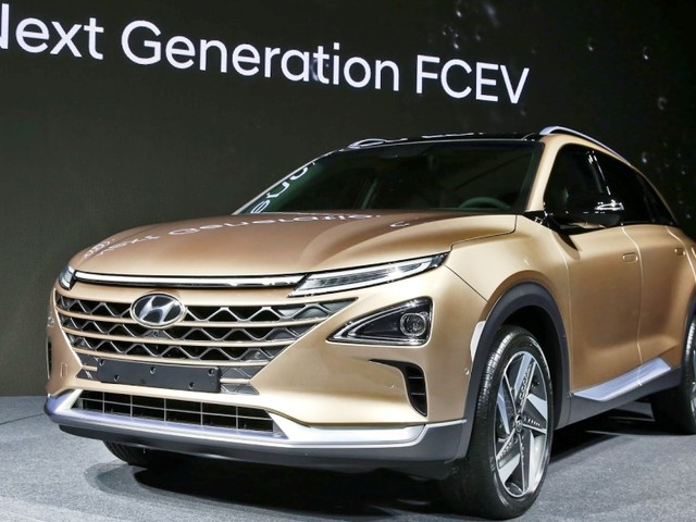 Hyundai showcases next-gen fuel cell EV in Seoul