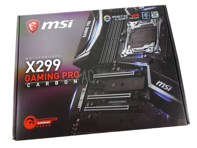 The MSI X299 Gaming Pro Carbon AC Motherboard Review