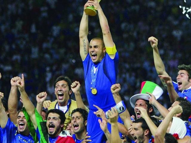 Cannavaro urges Italy to summon 2006 spirit to beat virus