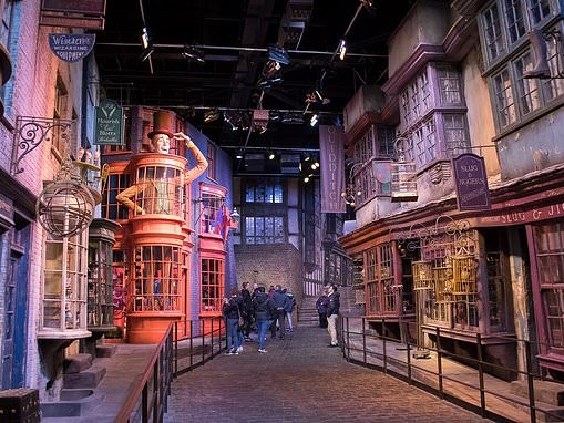 Diagon Alley Harry Potter film set to be covered in snow for first time at Warner Bros Tour London