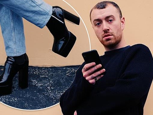 Sam Smith delightedly tells fans he's found a 'perfect' pair of platform heels