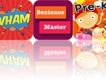 Today's Apps Gone Free: Sky Guide, Comic Blast, Sentence Builder and More