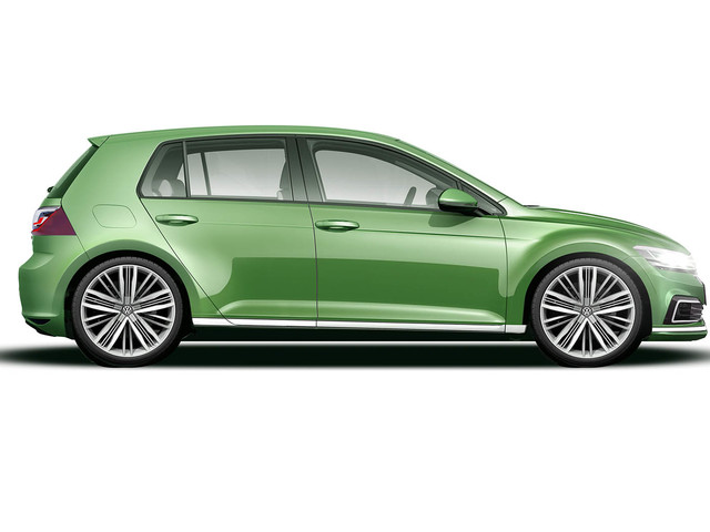2019 Volkswagen Golf Mk8: first official preview image revealed