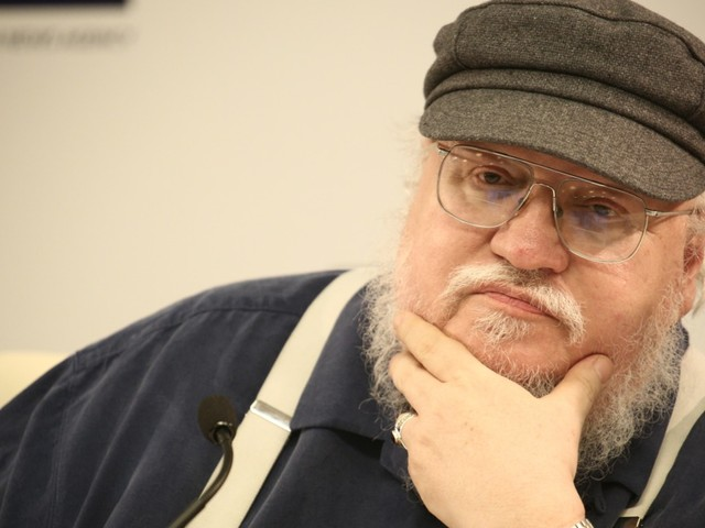 Never Mind, George R. R. Martin Watches Game of Thrones Just Like Everybody Else