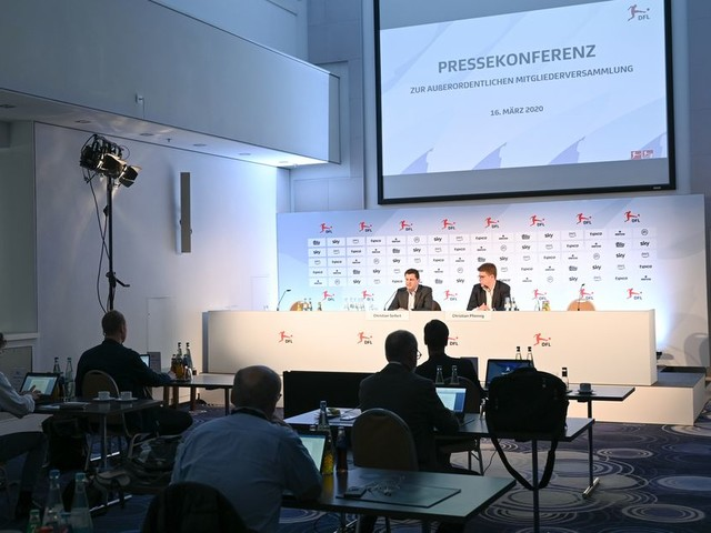 Bundesliga 'ready to resume' on May 9, pending government approval