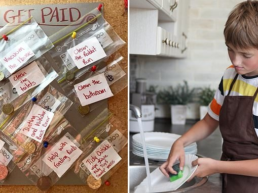 Mum-of-two reveals the pocket money trick she is using to get her kids to help out around the house