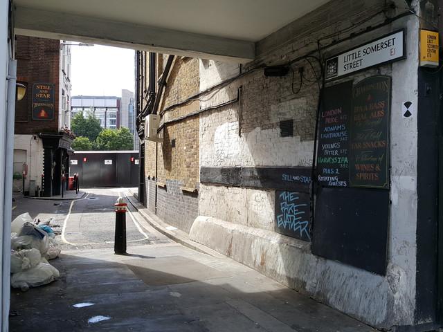London's Alleys – Little Somerset Street, E1