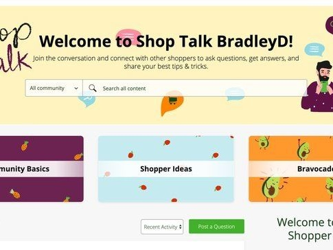 Online Grocery Shopping Communities - Instacart Looks to Engage Its Customer Base Through Shop Talk (TrendHunter.com)