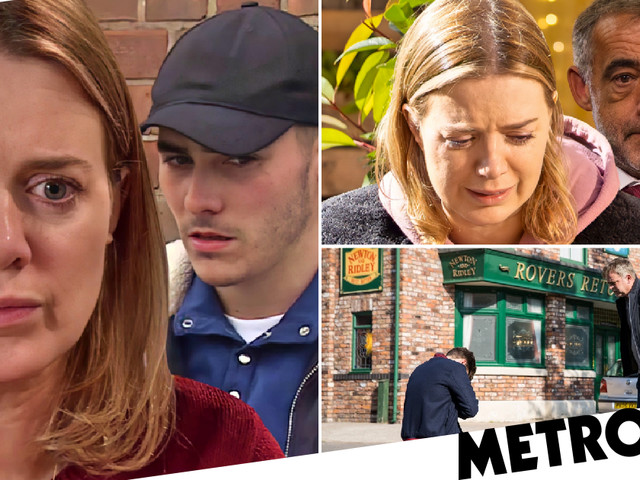 Coronation Street spoilers: 40 new images reveal shocking Corey climax, wedding tragedy and heart trauma