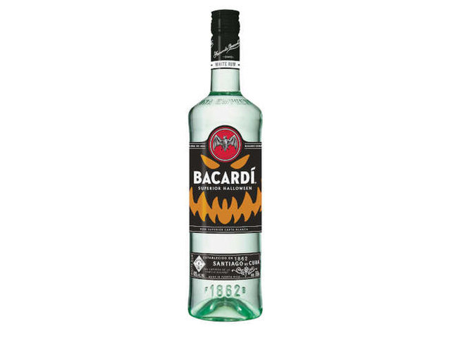 Limited-Edition Haunted Rum Bottles - BACARDÍ Superior is the Perfect Halloween Alcoholic Beverage (TrendHunter.com)