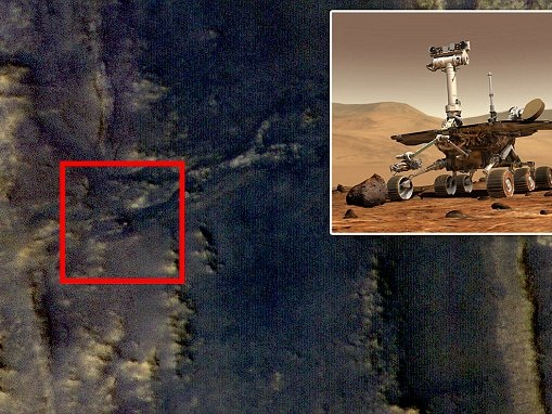 NASA spots Opportunity rover on Martian surface (but still can't communicate with it)