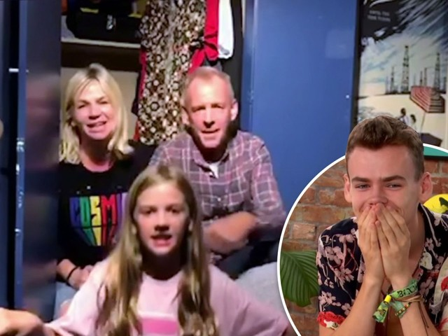 The Circle fans praise Zoe Ball and Fatboy Slim for 'raising Woody right' as they surprise him with sweet video message