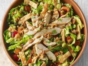 Spicy Thai Chicken Salads - Panera Bread Updated the Recipe for Its Spicy Thai Salad with Chicken (TrendHunter.com)