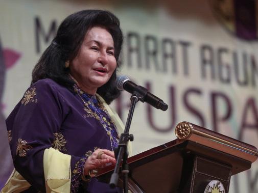 Rosmah meets M'sian children, mothers in Sydney