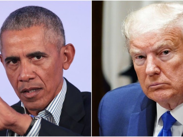 'Tweeting at the television doesn't fix things': Obama digs into Trump at a drive-in rally for Joe Biden and Kamala Harris