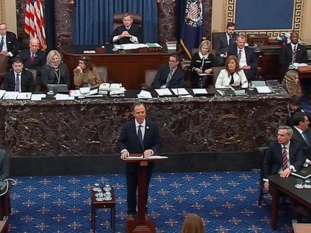 Senate impeachment trial live updates: Democrats make their case against Trump