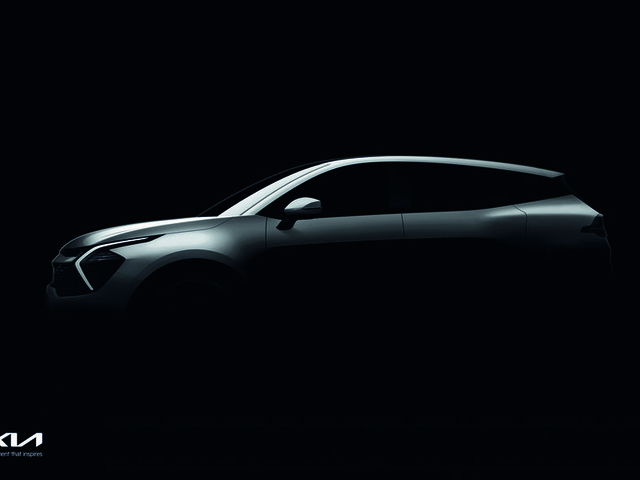 Next-gen Kia Sportage SUV teased ahead of unveil