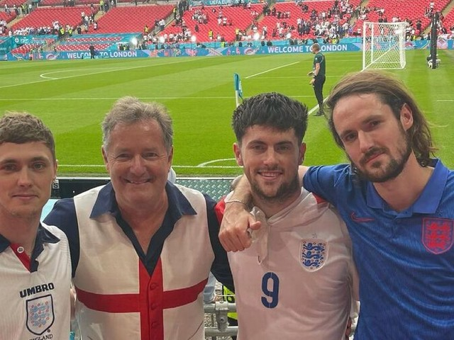 Piers Morgan caught Covid at Euro 2020 final despite being double-jabbed