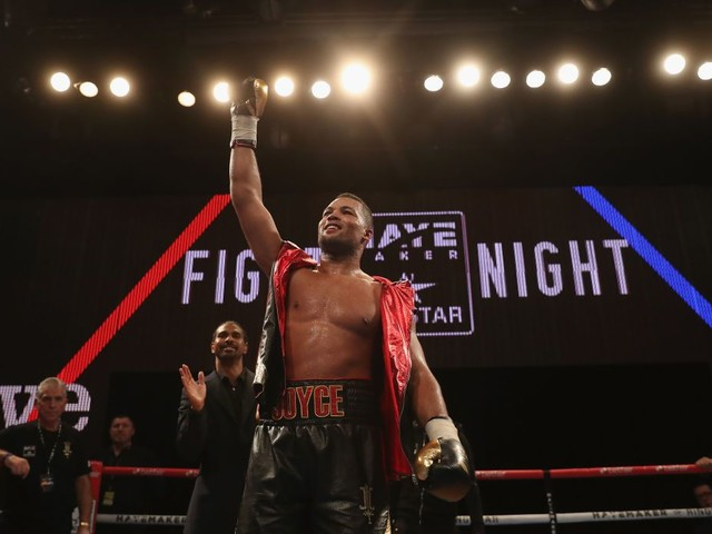 Joe Joyce secures slick professional debut win over Ian Lewison in London