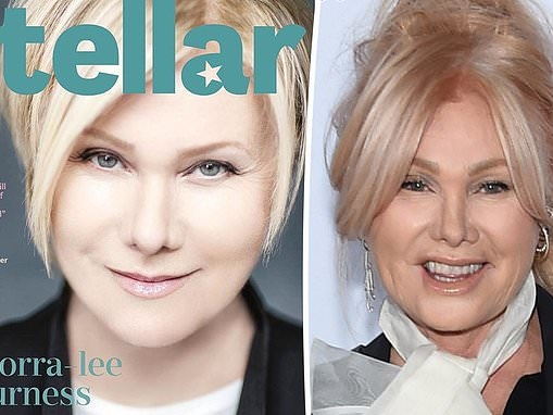 Deborra-lee Furness,64, looks unrecognisable on the cover of a magazine