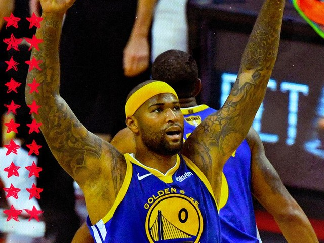 DeMarcus Cousins had his playoff moment and we couldn't be happier