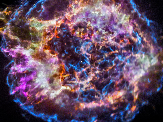 NASA's Image Of The Day Is A Star That Exploded In The 17th Century