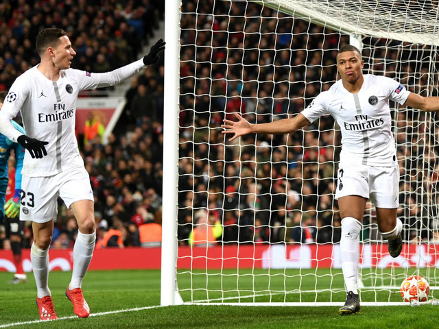 Champions League: Kylian Mbappe and PSG give Man Utd a footballing lesson