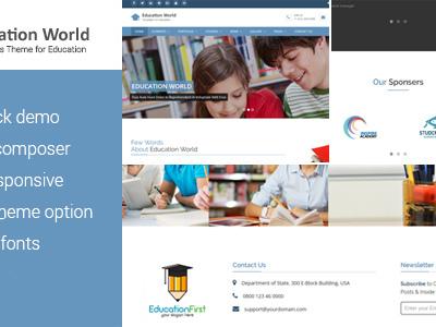 Education World WordPress Theme (Education)