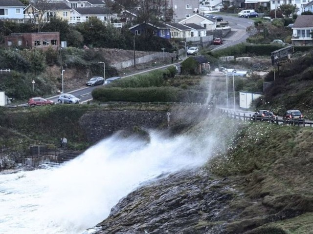 Hurricane Ophelia: Travel disruption continues across Wales