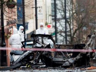 Car bomb linked to New IRA rattles Northern Ireland
