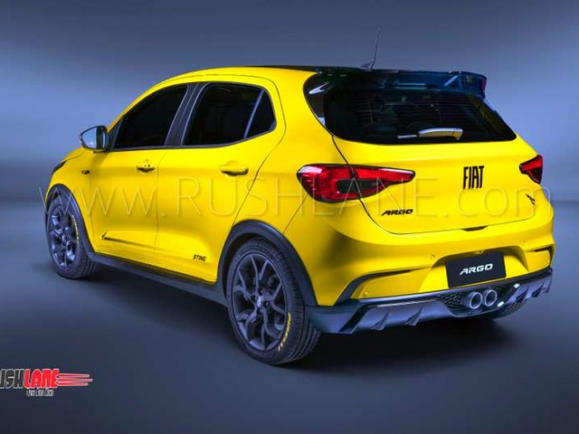 Fiat Argo Sting is sporty looking variant of the Punto successor we want in India