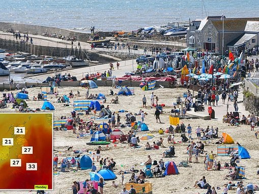 UK weather: Britain is set for its HOTTEST August Bank Holiday in history