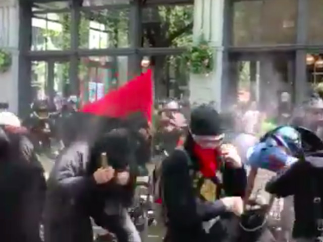 Anti-Muslim Hate Marches Across U.S. Draw Violence, Arrests