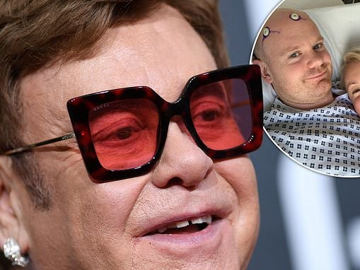 Elton John is praised for supporting friend through cancer battle