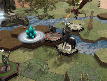 Longsword Tabletop Tactics is part game, part tabletop platform