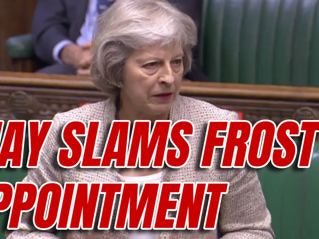 Theresa May Slams Appointment of David Frost as National Security Adviser
