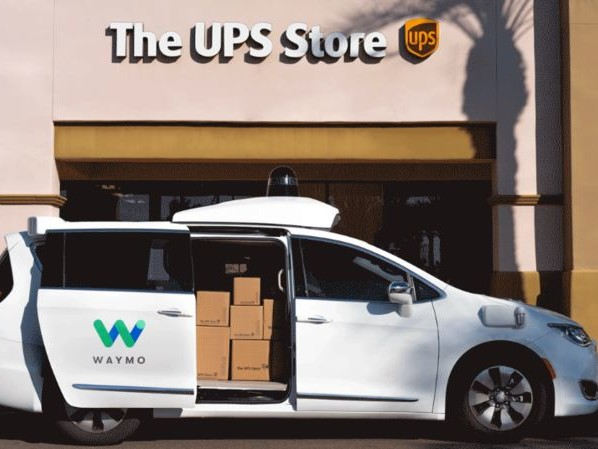 Package Delivering Autonomous Vans - Waymo and Ups Will Run a Test in Phoenix with self-driving vans (TrendHunter.com)
