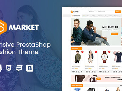 Smarket - Clothing Responsive Prestashop 1.7 Theme (Fashion)