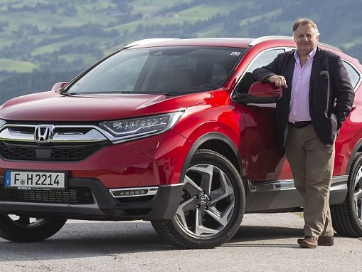 RAY MASSEY: Honda's new family favourite CR-V is a hit