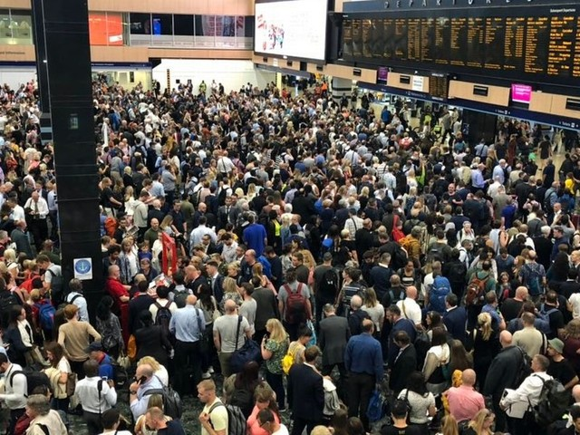 Thousands face chaos at London Euston after signal failure sparks huge delays