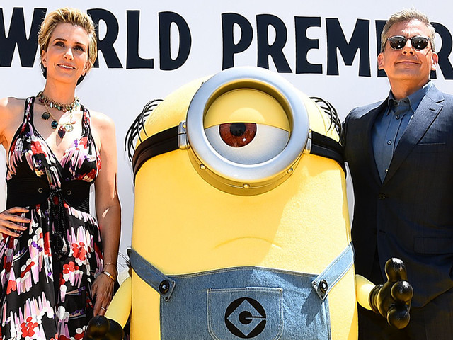 Steve Carell, Kristen Wiig Welcome 'Despicable Me 3' With '80s Field Day