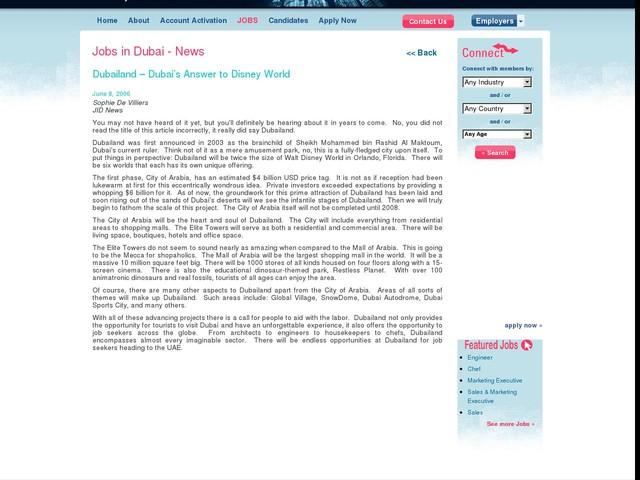 Dubailand – Dubai's Answer to Disney World