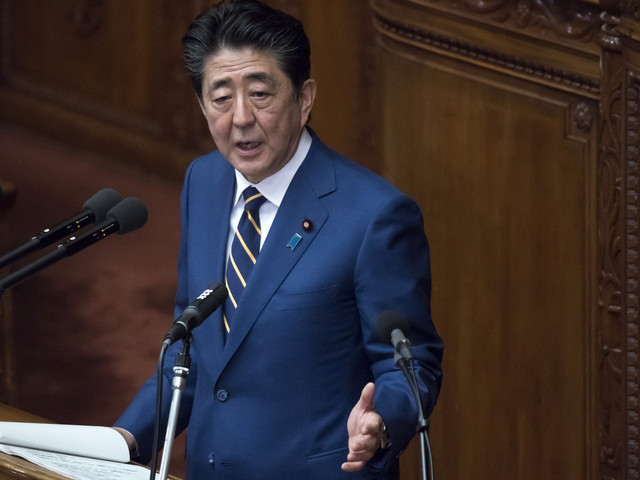 Abe claims Tokyo 2020 will mark new era for Japan