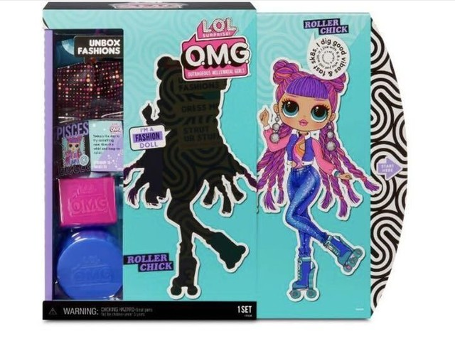Collectible Fashion Dolls - L.O.L. Surprise!'s New Fashion Doll Packaging Doubles as a Playset (TrendHunter.com)