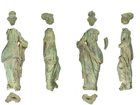 Roman Minerva statue in margarine tub among discovered treasures