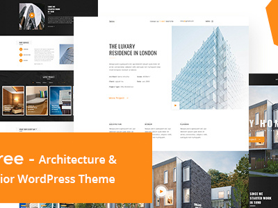 Baree - Architecture & Interior WordPress Theme (Portfolio)